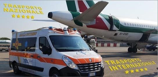 Specializzata nel trasporto sanitario per pazienti con difficoltà di movimento.I mezzi sono provvisti di attrezzature per il sollevamento di carrozzine. ASSISTENZA  ANCHE SU VOLI DI LINEA