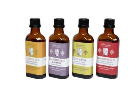 Macerated oils and Massage oil