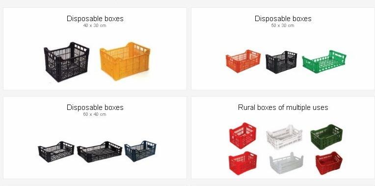 We produce plastic crates in many sizes and for every use, Disposable plastic crates, boxes, containers