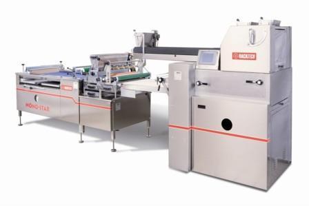 Compact dough dividing system BackTech