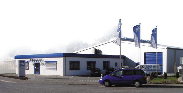 Luftentfeuchtung für Industrie und Gewerbe seit 1972.