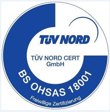 Zertifizierung BS OHSAS 18001
