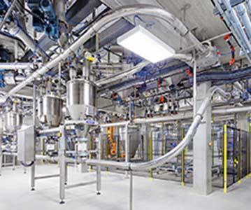 Pneumatische Druck- und Saugförderanlagen