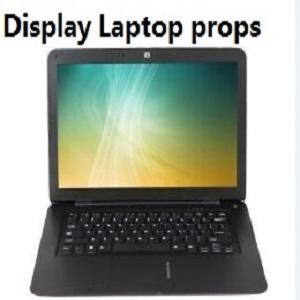 Dummy false Laptop Props for furniture decor showroom designer idea