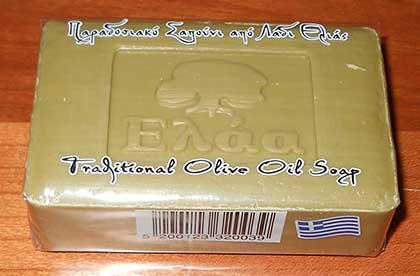 Green Olive Oil Soap 100% Natural