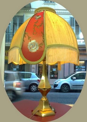 Victorian silk dome