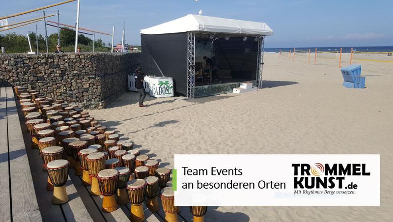 Team Events, Seminar an besonderen Orten