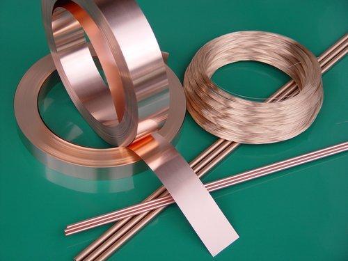 Kupfer-Beryllium Halbzeug