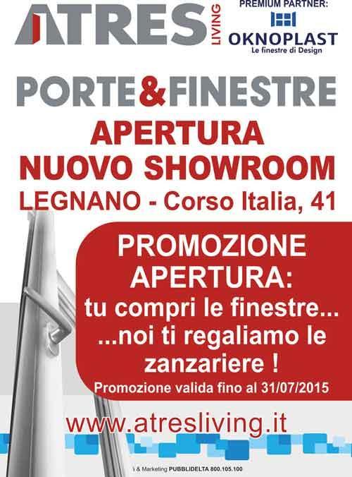 Promozione finestre e zanzariere a Milano