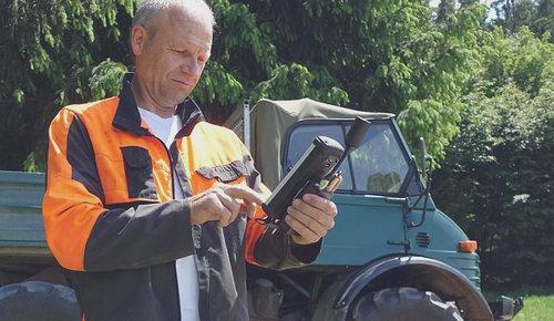 GPS-Geräte für Forst und Landwirtschaft