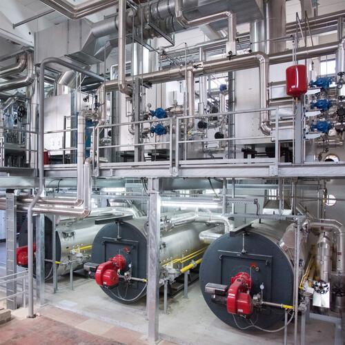 Thermoöl-Heizanlagen / Thermalölerhitzer
