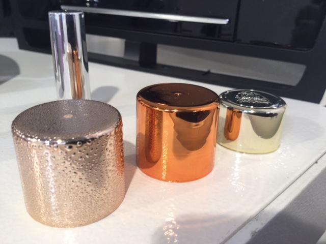 metallized cups