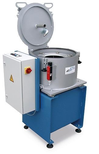 Leistung: 4 kW, Rotor-Volumen: 15 l, Schlamm-Kapazität: 12 kg, Volumenstrom. 150 l/min, Schälrohr, Förderhöhe: 5 m, Direktantrieb, strömungsoptimierte Beschleunigungsnabe, 3-Phasen Version möglich
