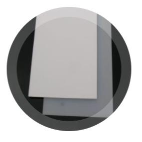 Vollsilikon-Platten