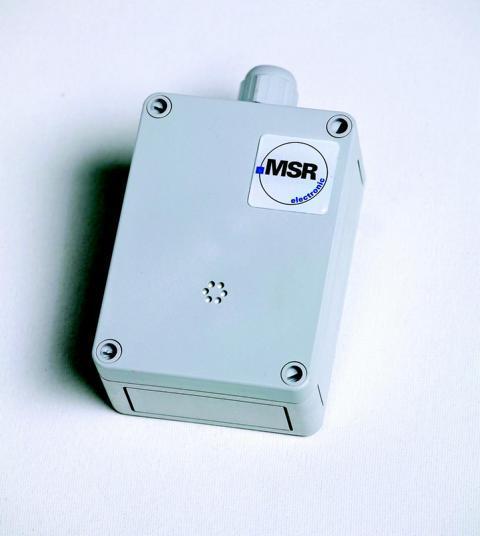 ADT-Transmitter, CO2-Carbon Dioxide (Infrared Cell), 24V, (0)-4-20mA, 0(2)-10V, Plastic Housing 94*130*57mm IP65, Measuring Range:0-5% VOL, Potentiometer-Calibration