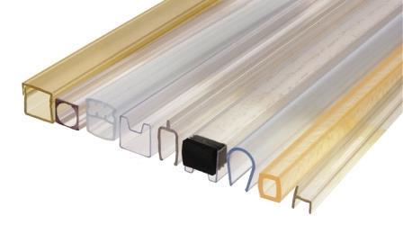 Profilés et profils PC polycarbonate transparent