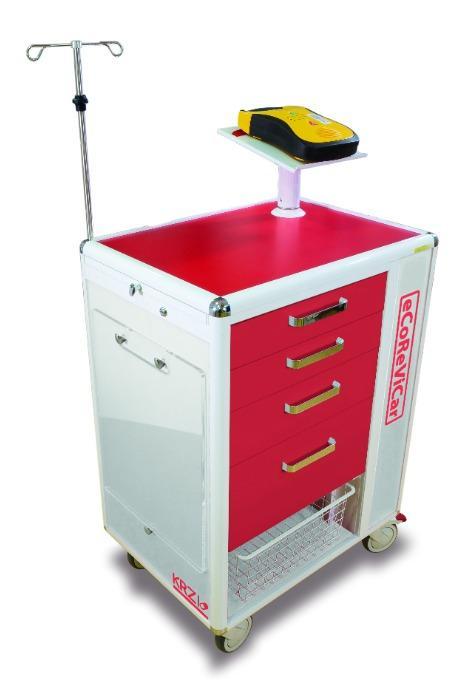 ECOREVICAR - Resucitation Cart