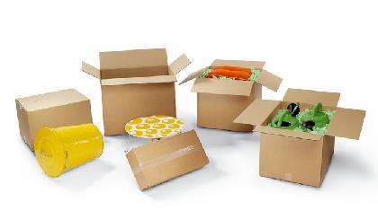 Große Auswahl an unterschiedlichen Kartons und Boxen