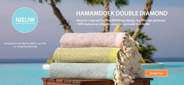 Hammamtowel Double Diamond Fashion4Wellness