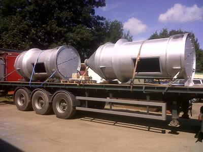 Steel Twin Filters enroute.
