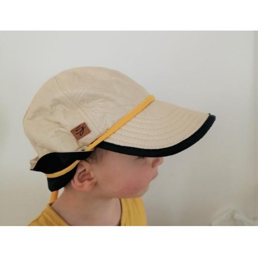 Casquette anti UV avec protection nuque pour enfant
