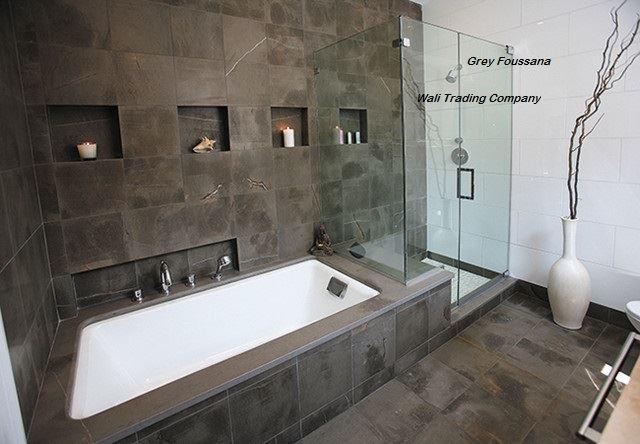 WTC mettre a votre disposition grey foussena marbre qui peut être utilisé comme matériaux de sols et murs,pour intérieur et extérieur.il est une pierre éternelle et se prête a des nombreuses finitions