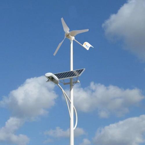 ll s'agit de lampadaire solaire hybride pour éclairage public avec éolienne. L'éolienne en plus permet d'optimiser la production énergétique de votre installation.           *Image non contractuelle.