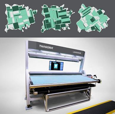Thagora Leather Scanning Machine