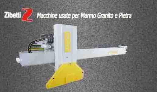 Commercio e vendita di macchine usate per la lavorazione di Marmo Granito e Pietra
