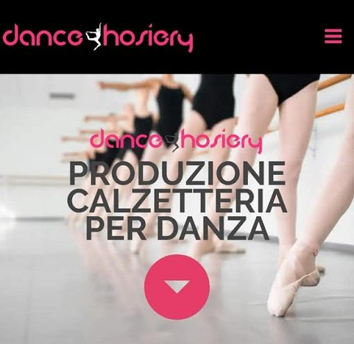 DanceHosiery is a company that produces socks and tights specifically for dancers and skaters.
