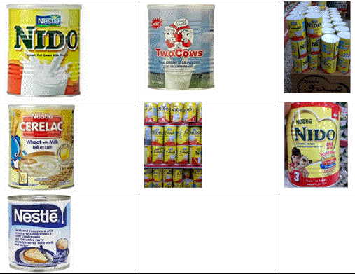 Tout le product Nestle
