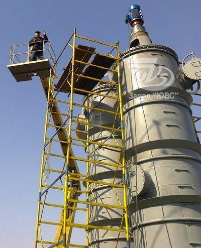 Оборудование для химической, нефтехимической, нефтегазовой промышленности: резервуары, емкостные аппараты,  сосуды под давлением, теплообменное оборудование, колонные аппараты, смесители, реакторы.