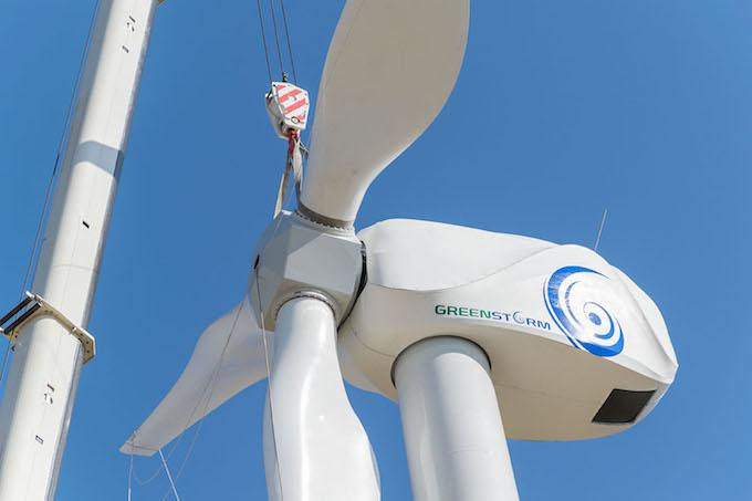 GreenStorm produces wind turbines in Italy, it uses ABB components and KEB inverters.