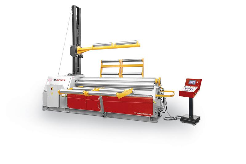HYDRAULIC 4 ROLLS PLATE BENDING MACHINES