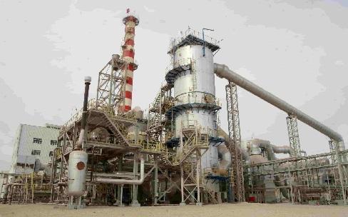 Construction d'une unité de production de phosphate à Mdhilla pour le compte de la société chinoise ECEC.