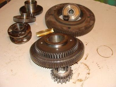 spare parts for lathes and delivery of new lathes