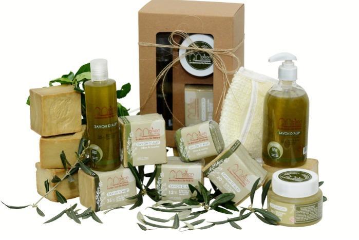 Aleppo soap manufacturer