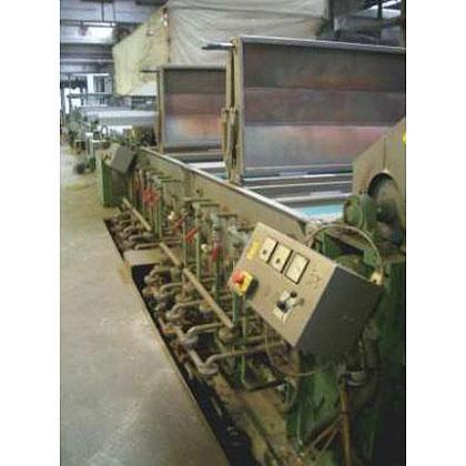 Textiles: máquinas de acabado, estampado y tinte