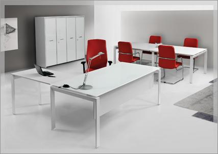 The desks of the line SCACCO plans are made with high-strength melamine thickness of 18 mm with ABS edging 2 mm thick in matching the surface ... http://www.fumu.it/executive-offices-SCACCO.html