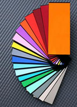 Lastre acriliche colorate metallizzate - Coloured Metallic Acrylic Sheets