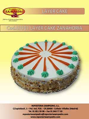 DELICIOSA LAYER CAKE DE ZANAHORIA