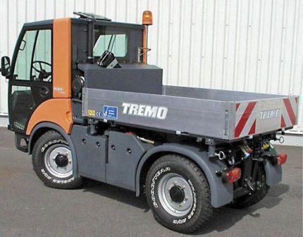 Porte outils sur châssis TREMO