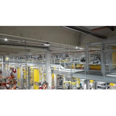 Fully automated production line