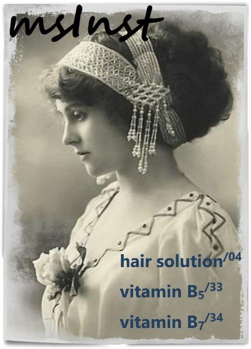 Hair mesotherapy solutions
