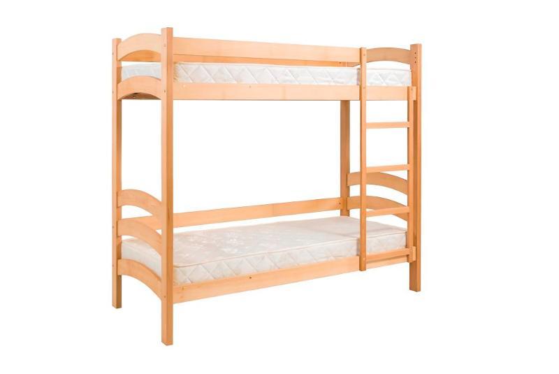 Ліжко розраховане на 2 дітей які можуть комфортно відпочивати у зручному ліжку