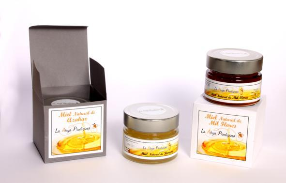 Natural honey from Spain