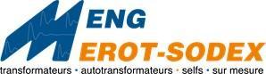 2ms-transformateurs regroupe l'entreprise Meng - constructions électriques - à Rixheim en Alsace et la société nouvelle Merot-Sodex à Loches en Touraine.