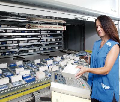 Con los almacenes automáticos verticales lanzadera Hänel Lean-Lift® le ofrecemos un sistema de alta tecnología para la organización del almacén y manipulación de materiales de primera clase, que ahorr