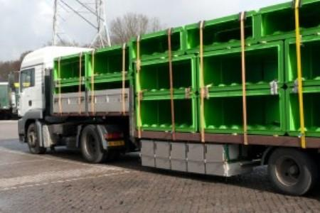 Europeblock® delivers concrete block moulds directly from stock