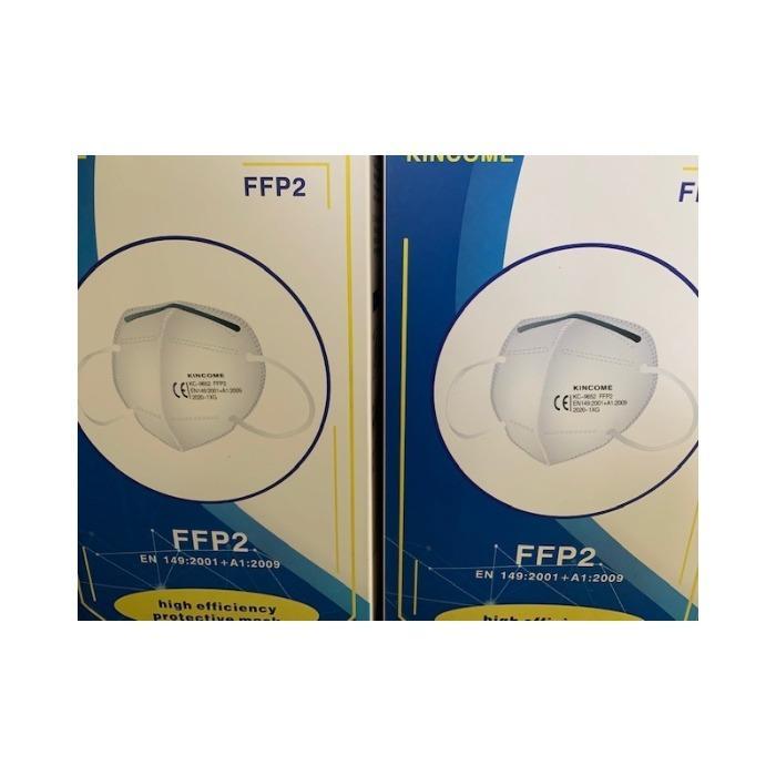 Masques respiratoires de protection CE